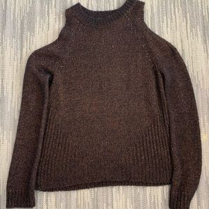 INTERMIX cold should sweater.